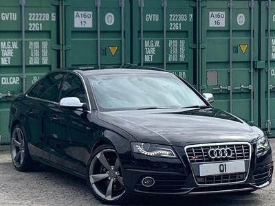 used Audi S4 3.0 TFSI V6 quattro 4dr