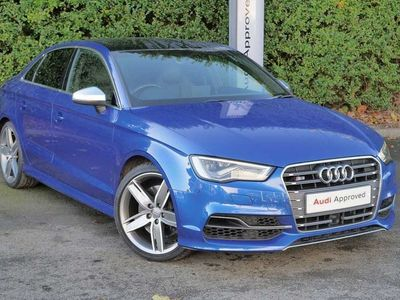 used Audi A3 S3 TFSI Quattro 4dr S Tronic Saloon 2015