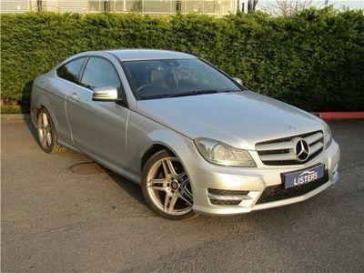 used Mercedes C220 C ClassCDI BlueEFFICIENCY AMG Sport 2dr Auto Coupe 2013