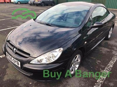 used Peugeot 307 CC 2.0 2dr