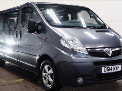used Vauxhall Vivaro 2.0 CDTi ecoFLEX 2900 Combi 4dr (9 Seats, LWB, EU5)