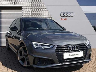 used Audi A4 40 TDI Black Edition 4dr S Tronic Auto diesel saloon