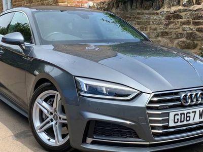 used Audi A5 PETROL SEMI AUTOMATIC HATCHBACK 5 DOORS