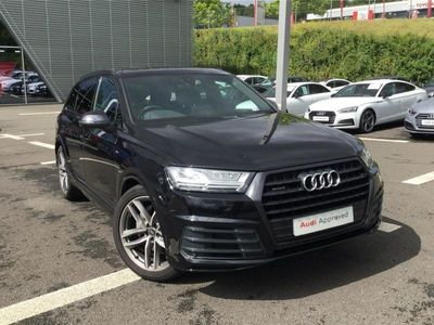 used Audi Q7 50 TDI Quattro Black Edition 5dr Tiptronic