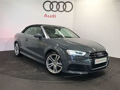 used Audi A3 Cabriolet 1.5 TFSI S Line 2dr