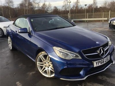 used Mercedes E220 E-ClassAmg Line Edition 2Dr 7G-Tronic