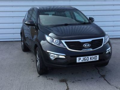 used Kia Sportage 2.0 First Edition 5dr Black Manual Petrol