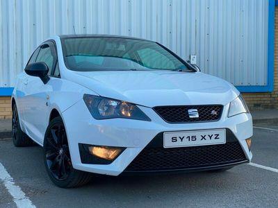 used Seat Ibiza 1.4 TSI ACT FR Black 3dr £20 ROAD TAX. GOOD SPEC. GOOD PRICE