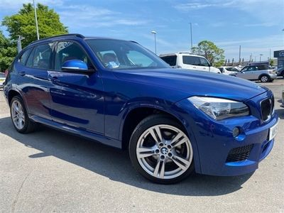 used BMW X1 2.0 SDRIVE18D M SPORT 5d 141 BHP LOW MILES-JUST 2 OWNERS