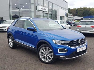 used VW T-Roc 2017 1.5 TSI SEL 150PS EVO