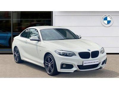 used BMW 220 2 Series d M Sport 2dr [Nav]
