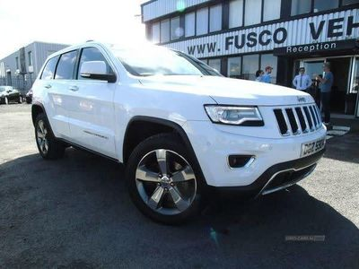 used Jeep Grand Cherokee 3.0 V6 CRD LIMITED PLUS 5d 247 BHP