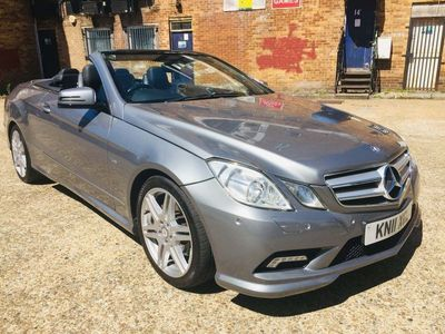 used Mercedes E220 E Class 2.1CDI BlueEFFICIENCY Sport Cabriolet 2dr