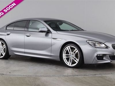 used BMW 640 6 Series 3.0 D M SPORT GRAN COUPE 4d AUTO 309 BHP, 2014 ( )