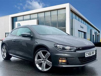 used VW Scirocco 2.0 TDi BlueMotion Tech R Line 3dr Coupe 2016