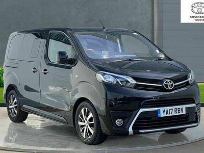 used Toyota Verso Proace2.0D Family Compact MPV Auto SWB EU6 (s/s) 6dr (8 Seat)