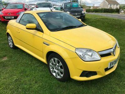 used Vauxhall Tigra 1.4i 16v Cabriolet 2d 1364cc