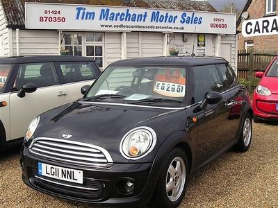 used Mini Cooper  Hatch 1.6[122] 3dr Auto Sold with a new MOT and 6 Months National Warranty
