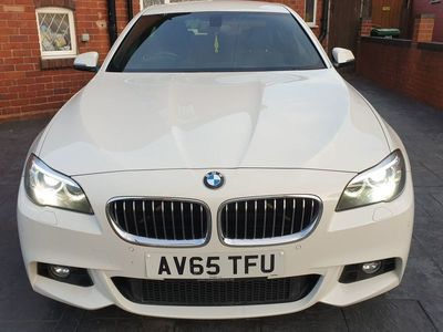 used BMW 518 5 Series 2.0 d M Sport 4dr