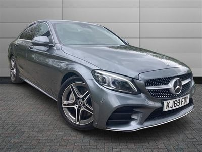 used Mercedes C300 D AMG LINE EDITION