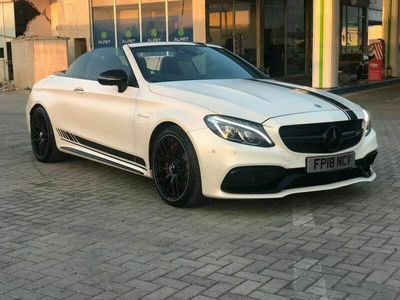 used Mercedes C63 AMG C Class 4.0V8 BiTurbo AMG S (Premium) Cabriolet SpdS MCT (s/s) 2dr