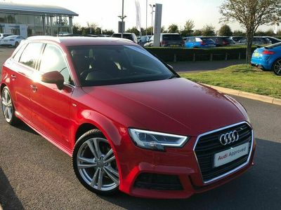 used Audi A3 Sportback 1.5 TFSI CoD 35 S line (s/s) 5dr