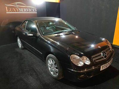 used Mercedes CLK280 CLK 3.0Elegance Cabriolet 7G-Tronic 2dr