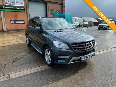 used Mercedes ML250 M Class 2.1BLUETEC AMG SPORT 5d 204 BHP