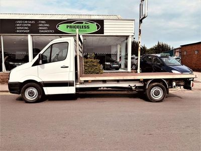 used VW Crafter CR35 TDI P/V L BM 2.0 CR35 TDI DROPSIDE LORRY BMT 109 BHP