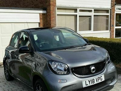 used Smart ForFour 0.9T Prime (Premium) Twinamic (s/s) 5dr