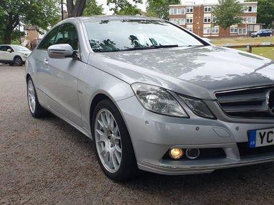 used Mercedes E350 E ClassCDI BlueEFFICIENCY SE 2dr Tip Auto