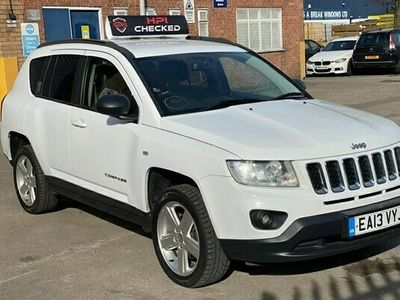 used Jeep Compass 2.2 CRD Limited 4WD 5dr