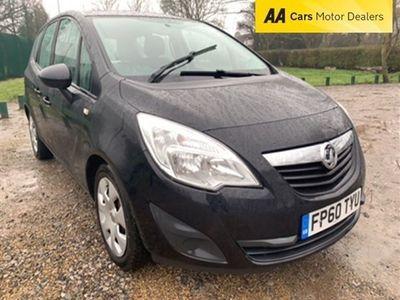 used Vauxhall Meriva 1.4 EXCLUSIV 5d 98 BHP MPV 2011