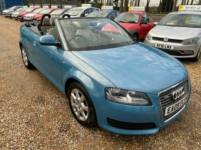 used Audi A3 Cabriolet Cabriolet 2.0 TDI S Tronic 2dr