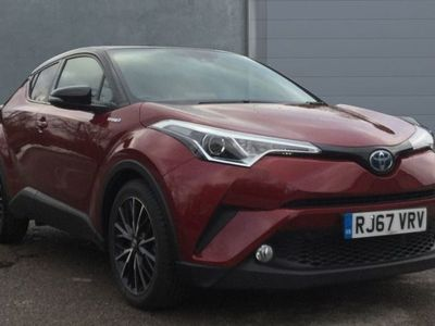used Toyota C-HR Hybrid 1.8 122bhp Red Edition Crossover 5-Dr 5dr