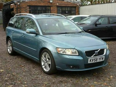 used Volvo V50 Estate D5 SE Lux 5d Geartronic