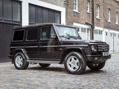 used Mercedes G55 AMG G Class 5.4V8 AMG Tiptronic 4WD 5dr