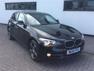 used BMW 116 1 SERIES 2015 Preston Farm Industrial Estate i Sport 5dr Step Auto