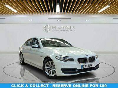 used BMW 518 5 SERIES 2.0 D SE 4d 141 BHP SAT NAV | P-SENS | CLI CON