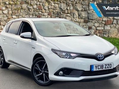 used Toyota Auris Hybrid 1.8 VVT-i HSD Design 5-Dr 5dr