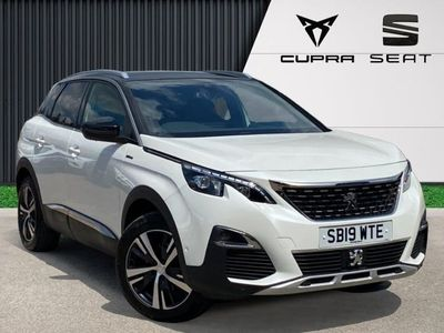 used Peugeot 3008 1.5 Bluehdi GT Line SUV 5dr Diesel Eat (s/s) (130 Ps)