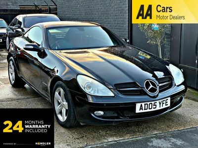 used Mercedes SLK200 SLK 1.8Kompressor 2dr *** 24 MONTH WARRANTY *** Convertible 2005