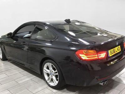 used BMW 420 4 Series 2.0 d M Sport 2dr