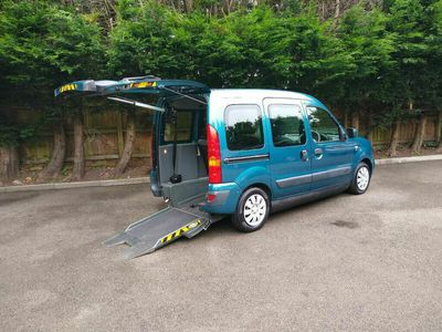 used Renault Kangoo EXPRESSION 16V 5-Door Wheelchair Accessible Vehicle.