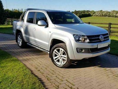 used VW Amarok 2.0 BiTDI BlueMotion Tech Highline Per Pickup 4MOTION 4dr (3.17t)