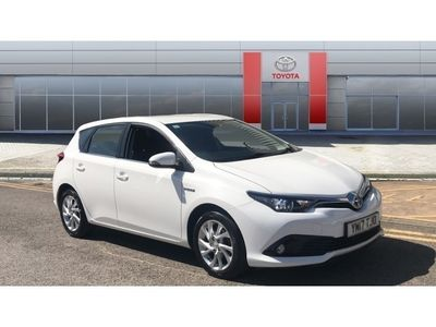 used Toyota Auris 2017 Chesterfield 1.8 Hybrid Icon TSS 5dr CVT Hybrid Hatchback