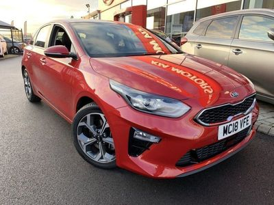 used Kia cee'd 1.4 FIRST EDITION ISG 5DR