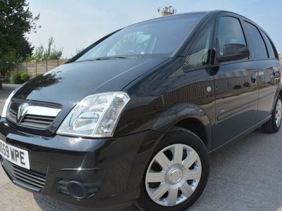 used Vauxhall Meriva PETROL MANUAL MPV 5 DOORS