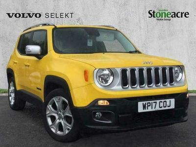 used Jeep Renegade 1.6 Multijet II (120bhp) Limited (s/s) (Navigation, Heated front seats, 18'' Alloy Wheels) 1.6 5dr