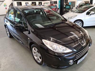 used Peugeot 307 1.6 S SPEC-5DR-BLACK-AUTO-FSH-2 KEYS-MUST SEE